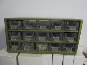 PARTS CABINET (15 DRAWERS)