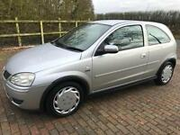 AUTOMATIC VAUXHALL CORSA ONLY 70,000 GENUINE MILES 3 DOOR IN SILVER