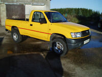 ALL 4X4 TRUCKS PICK UPS REQUIRED,TOYOTA,L200.FORD,MAZDA,LAND ROVER,ETC