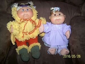 Cabbage Patch Dolls and Clothing