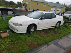 2002 S/C Monte Carlo SS Parts car