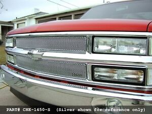grille stainless pickup chevrolet 1500