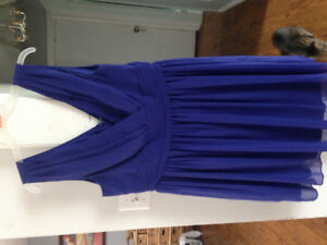 Two bridesmaid dresses.. royal blue
