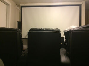 MOVIE THEATRE PACKAGE OR WILL SELL ITEMS INDIVDUALLY