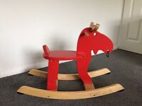 Ikea Rocking Moose