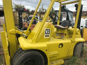 Cat 12000 lb the 'Rough Terrain' Forklift.