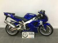 1998 Yamaha R1 YZF 1000cc Sports Exhaust Silencer, Double Bubble Screen YZF1000