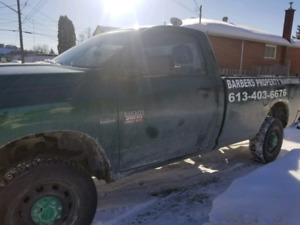 2010 ram with plow HD