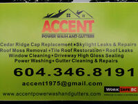 Roof Cleaning....Guttters.....Power Washing...Windows Cleaning..