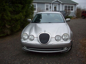 2000 Jaguar S-TYPE silver Sedan