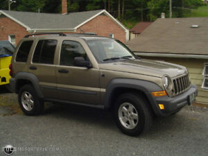 2006/2005 Jeep Liberty/Cherokee CRD (DIESEL) Parts for sale