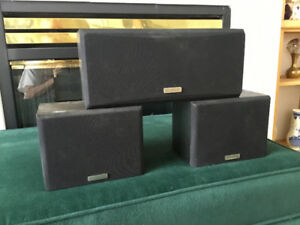 KENWOOD HOME THEATRE SPEAKER SYSTEM