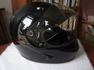 HCI-75 Black Full Face Helmet 75-S
