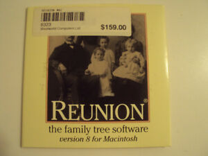 Reunion – The Family Tree Software