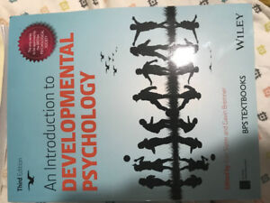 An Introduction to Developmental Psychology. Third Edition.