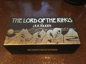 Lord of the Rings limited Edition Box Set on audio cassette