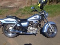 Suzuki Marauder 125 learner legal