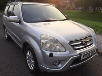 2006 HONDA CR-V I-CTDI EXECUTIVE SUV 2.2 DIESEL ONE OWNER FORM NEW SERVICE HISTORY 6 SPEED GEARBOX
