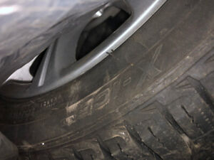 Michelin X Ice 3 Winter Tires with Rims