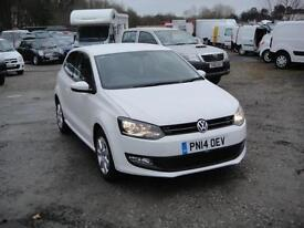 2014 Volkswagen Polo 1.2 Match Edition. Only 22,000 miles. 1 owner.