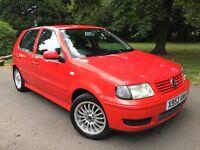 2000 VW Polo 1.4 S 6n2 facelift model ((2 keys)) service history AC MP3 NT corsa Astra golf