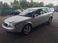 AUDI A4 2.4 V6 AVANT SE 12 MONTHS MOT DRIVES PERFECT VERY CLEAN EXAMPLE 2004