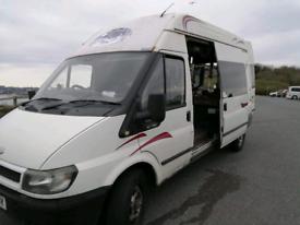 Ford transit camper (on V5)