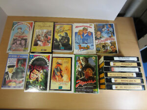 15 German Language Vintage Movies, 1930-40s, VHS Films, Nazi Era