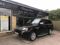 2008!Land Rover Range Rover Sport 2.7TD V6 AUTOMATIC HSE BLACK