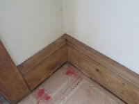 Baseboards, about 9.5 inches wide, on an old house (built 1927)