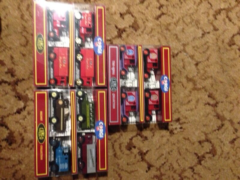 Collectible corgi cars 3x 4piecein Southampton, HampshireGumtree - 3 packs of corgi cars by cameo, The royal collection,Royal Mail 4 pack, and Railway 4 pack.Will sell separately if requested