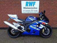 SUZUKI GSXR 600, 2005, K4, EXCELLENT COND, ONLY 10,349 MLS & 2 OWNERS, FULL MOT