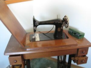 1936 Singer treadle sewing machine