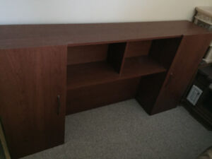 Desk topStorage unit