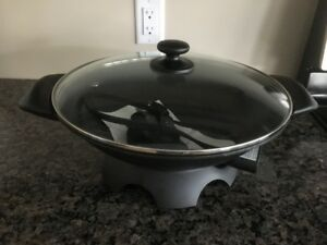 For Sale: Kenmore Electric Wok