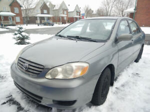 2003 Corolla Automatic LE - A pleasure to drive!