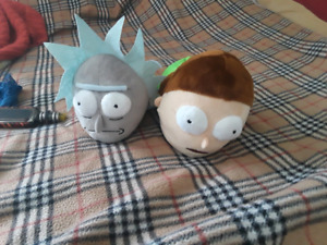Mike and Morty slippers 7 to 8