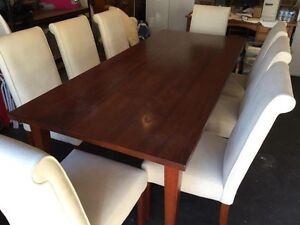 Dining Table and Chairs (8 seat) Gymea Sutherland Area Preview