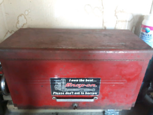 Vintage snap on top tool chest