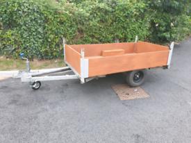 7x4 camping box trailer