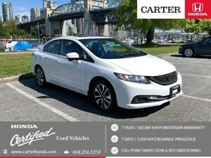2015 Honda Civic EX + MAY DAY SALE + CERTIFIED!