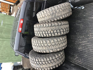 selling  Goodyear Wrangler  tires 33/12.5R15
