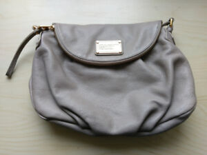 Marc by Marc Jacob Classic Q Natasha Taupe Crossbody Bag