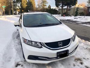 2015 Honda Civic EX Sedan White