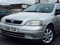 2001 VAUXHALL ASTRA LS DTI ESTATE 1.7 DIESEL MOT 11/05/2017* P/X CLEARANCE ONLY £795.00