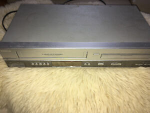 Phillips VHS and DVD Player no remote