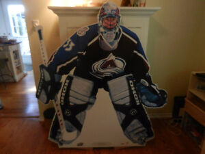 NHL Patrick Roy Kraft/Christie Stand Up Store Display 2001 New