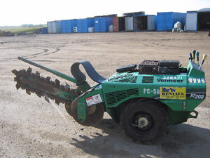 RT200 VERMEER TRENCHER WITH 3 FT BAR