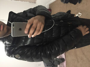 BLACK MONCLER JACKET - GREAT CONDITION