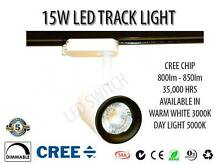 15W LED TRACK LIGHT ORIGINAL CREE CHIP + 5 YEARS WARRANTY! Cecil Hills Liverpool Area Preview
